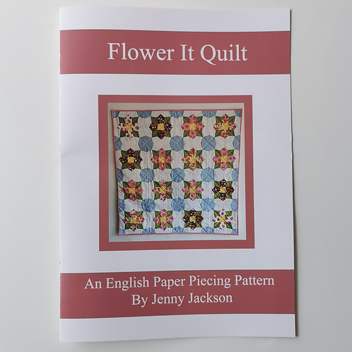 Flower It English Paper piecing PAPER pattern only