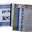 Thumbnail: The Staggered Strip Quilt Art Theory Kit - White