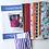 Thumbnail: Crosses Tote Bag Kit Springtime Colourway