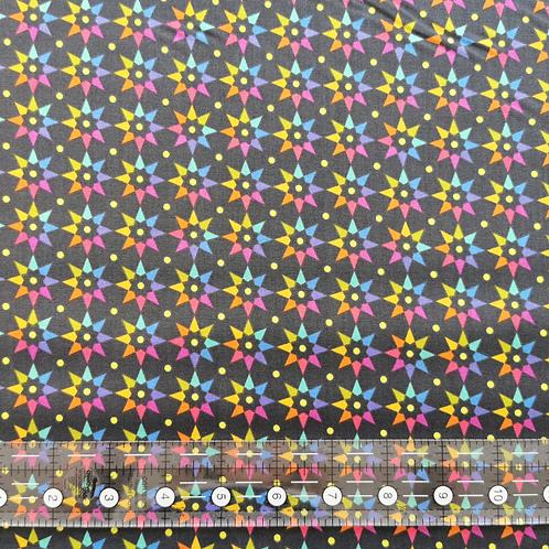 Alison Glass Art Theory Rainbow Star Black