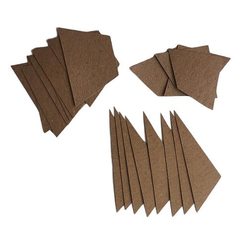 Wagon Wheel Quilt - Paper Pieces 1 block