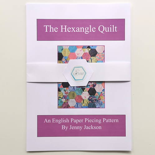 The Hexangle Quilt Paper Pattern
