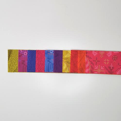 10 Piece Alison Glass Strip Roll