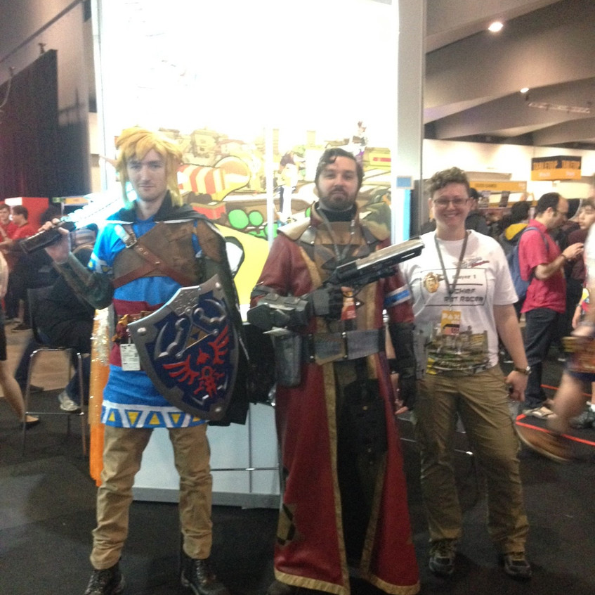 awesome cosplay guys