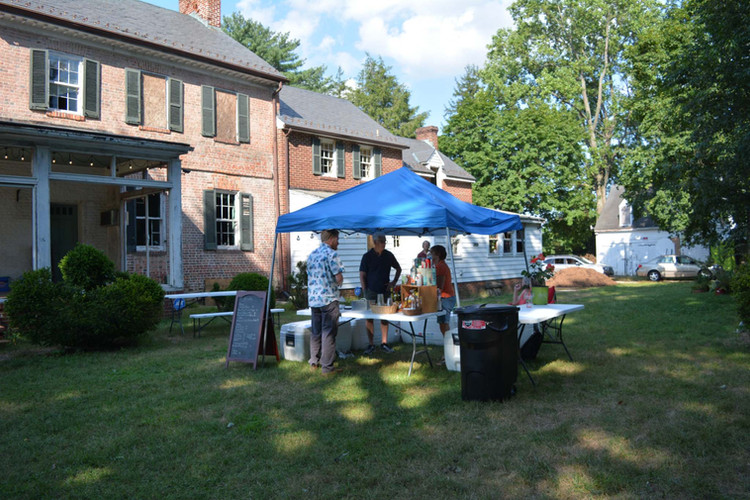 The Johns Hopkins House Beer Garden