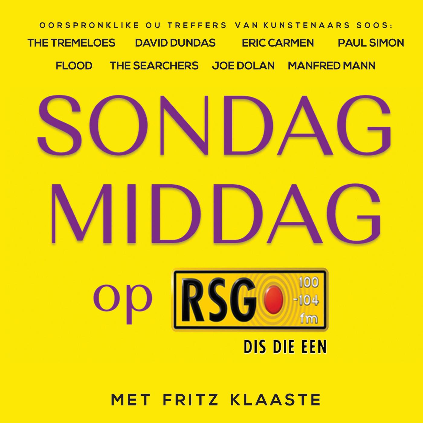 SONDAG MIDDAG OP RSG