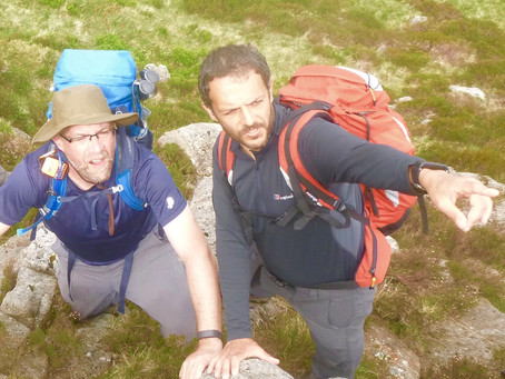 The knots are the easy bit......a day assessing on ML steep ground - Part 1.