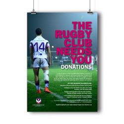 Rugby Club Advert