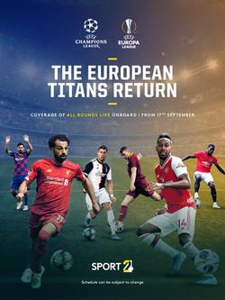 Champions/Europa League Newsletter