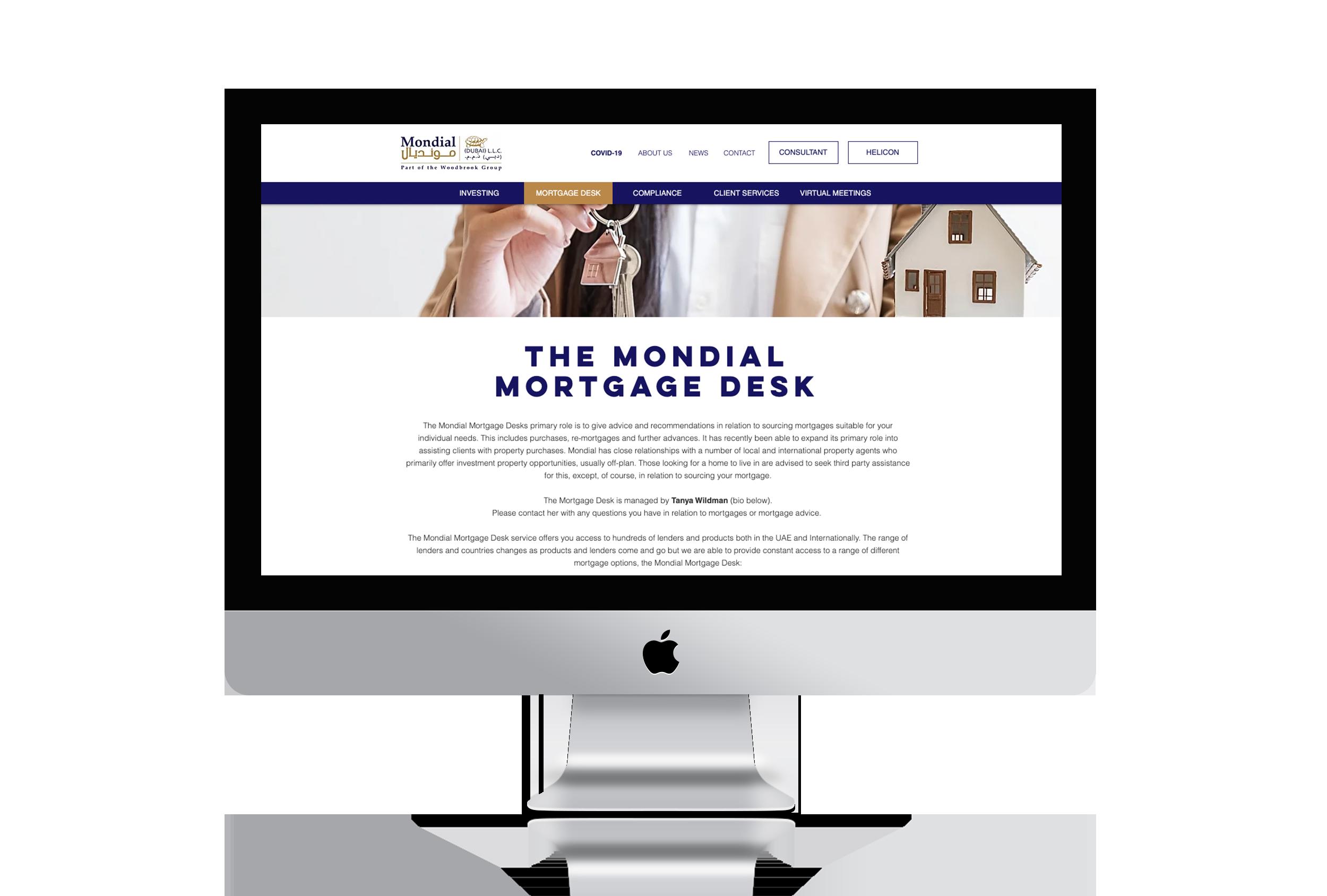 mortgage desk