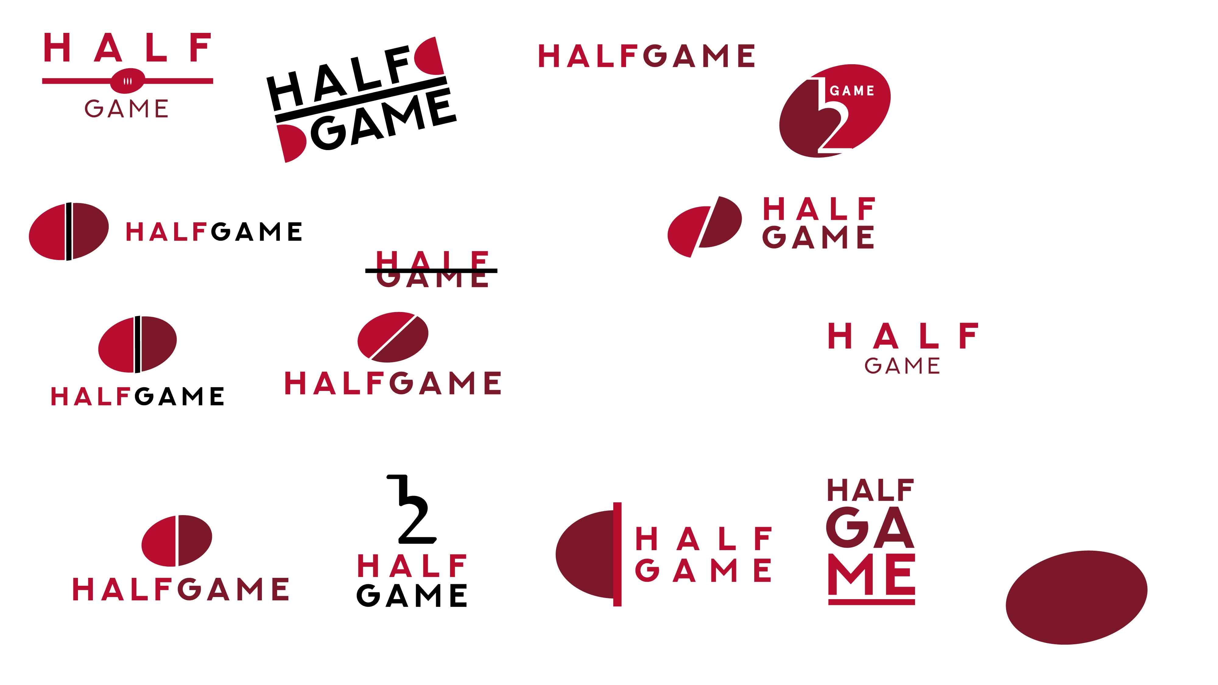 Half Game logo design 2-01
