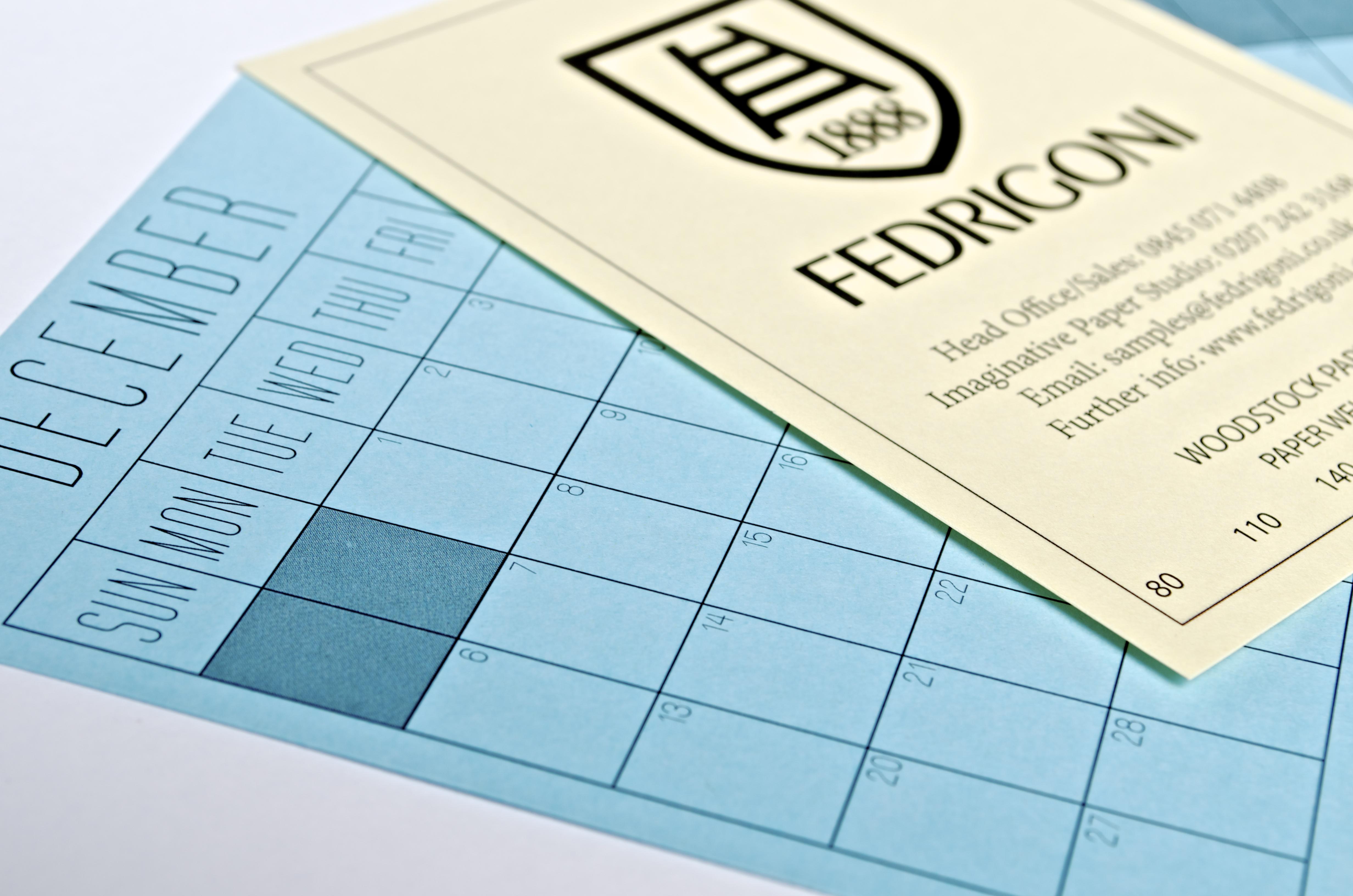 Fedrigoni Calendar