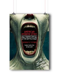 American Horror Story flyer side 1