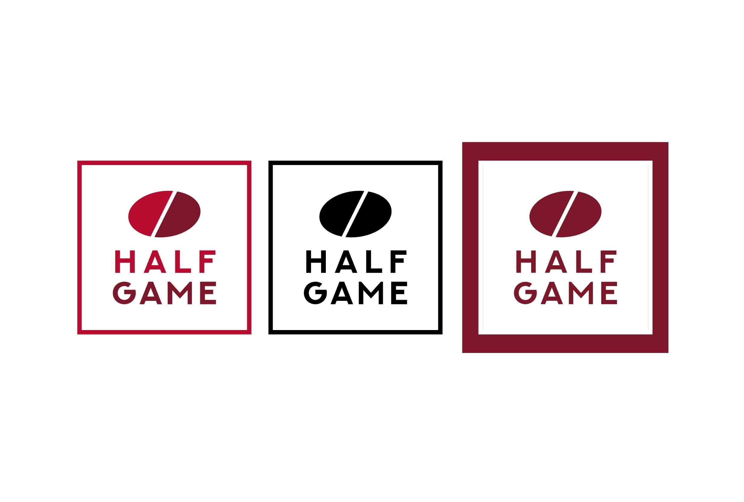Half Game logo design 2-03