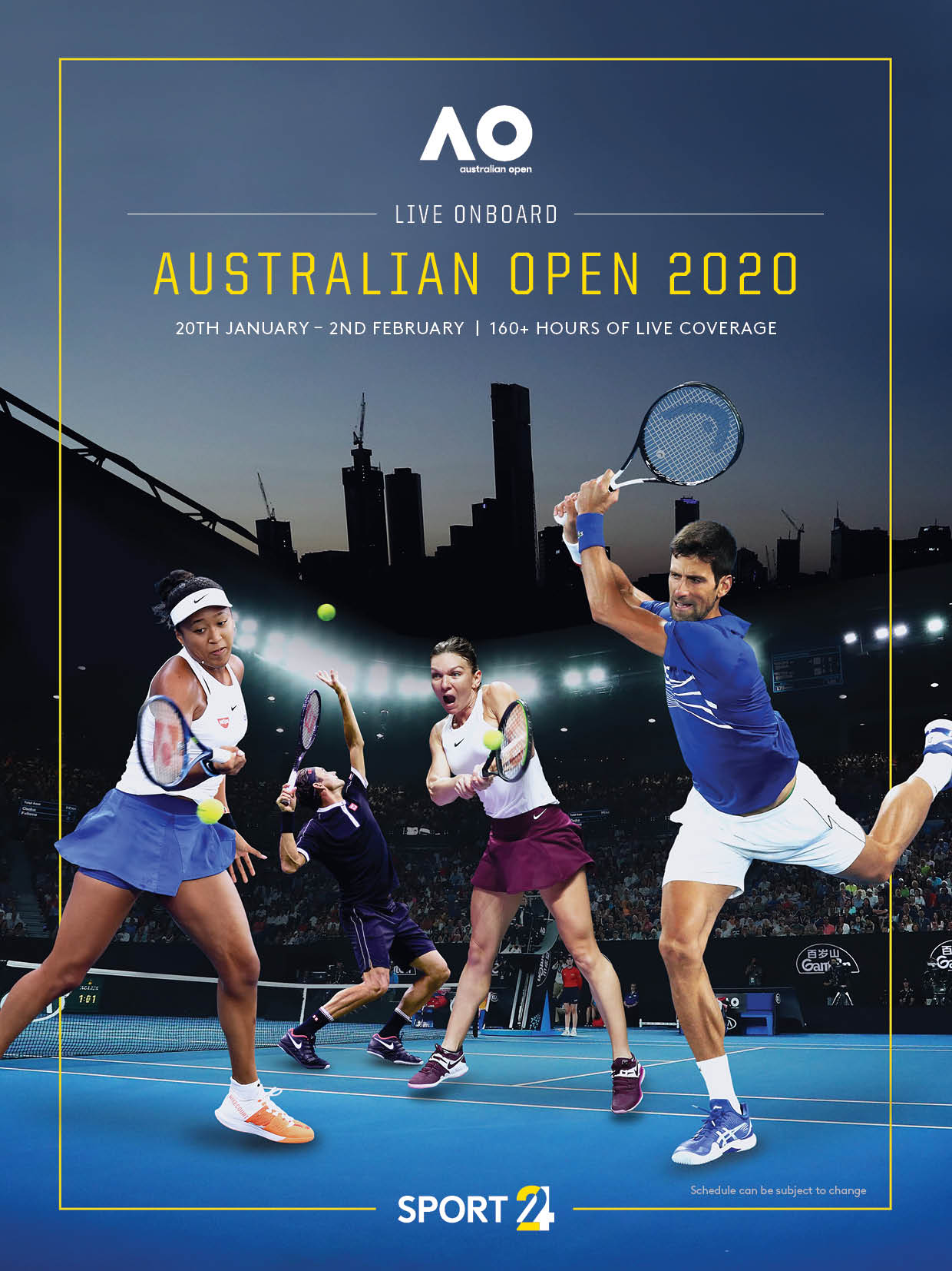 Australian Open Newsletter