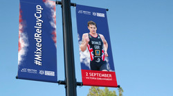 MRC lampost banner