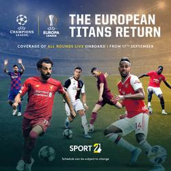 Champions/Europa League Social
