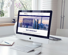 Free Elegant Interior iMac Pro Mockup PS