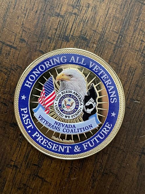2020 Nevada Veterans Coalition/Fern 45 Coin