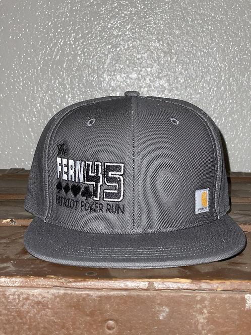 Fern 45 Carhartt Hat- Poker Charcoal Grey