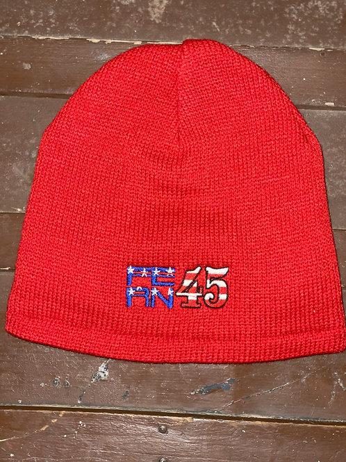 Fern 45- Red Beanie