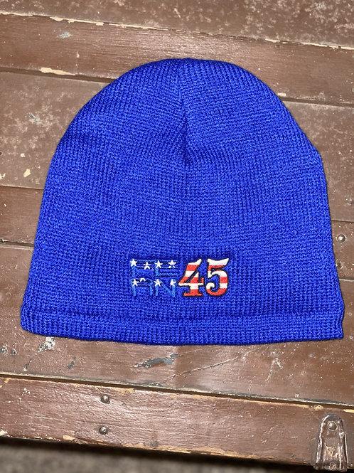 Fern 45- Blue Beanie