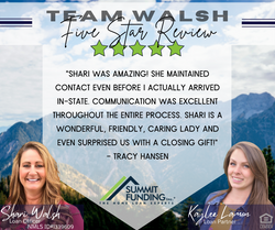 Team Walsh 5 Star Review