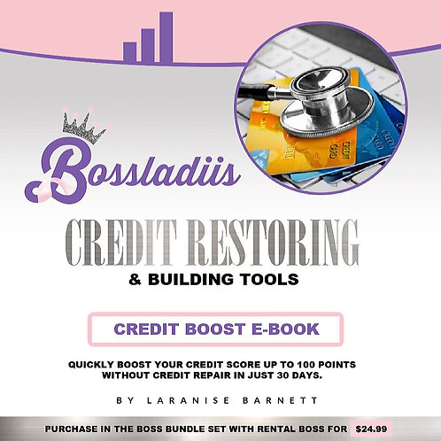 30 Day Credit Boosting Tool Guide