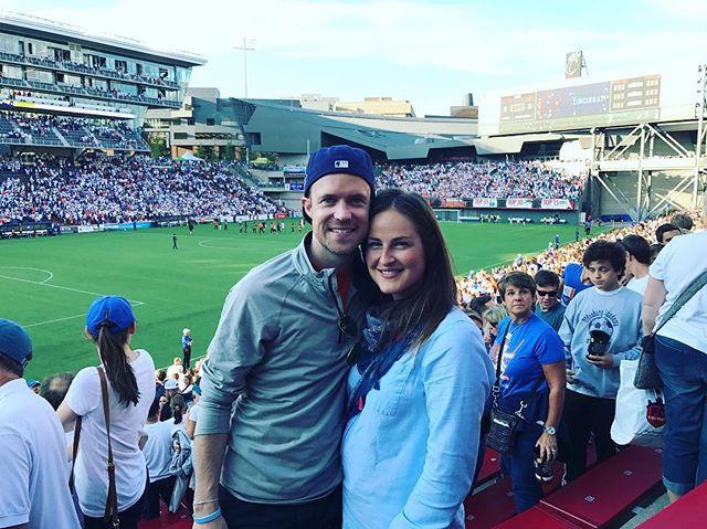 Chris and me at an FC Cincinnati game 2016