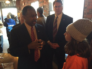 KidUnity 6th Graders Visit the Iowa Caucuses