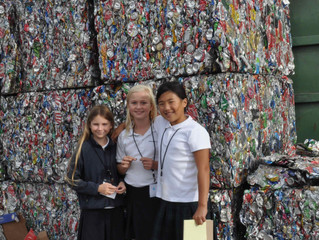 KidUnity Recycles - Our Visit to the Santa Monica Recycling Center