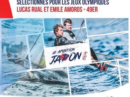 Emile et Lucas sélectionnés aux Jeux Olympiques