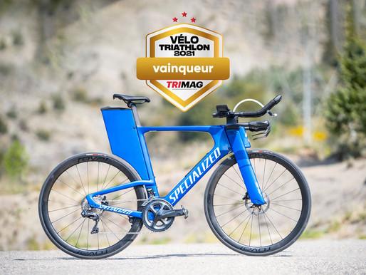 Le SPECIALIZED SHIV EXPERT élu vélo de Triathlon de l'année