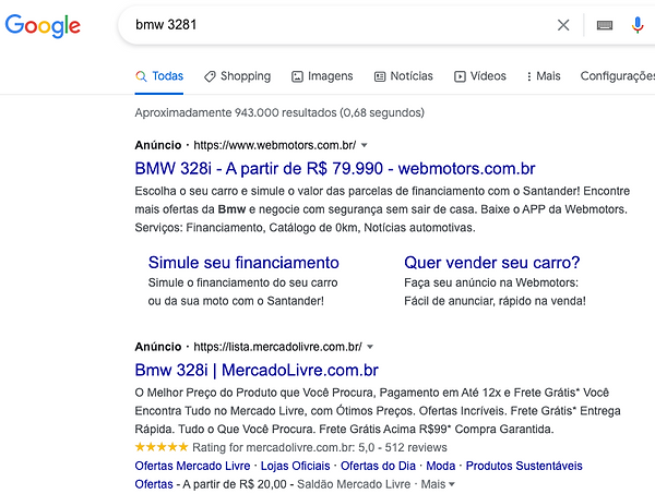 google-carros