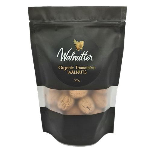Organic Tasmanian Walnuts in Shell 500g