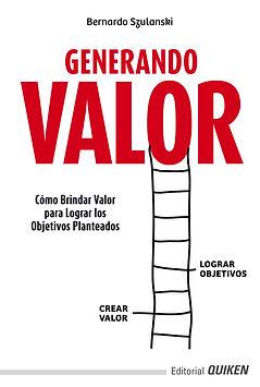 Tapa Libro Generando Valor - Crear Valor