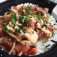 AHI POKÈ RICE BOWL