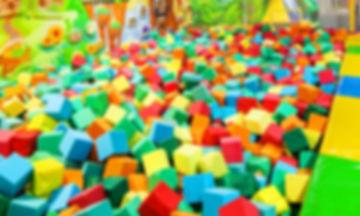 бассейн с кубиками