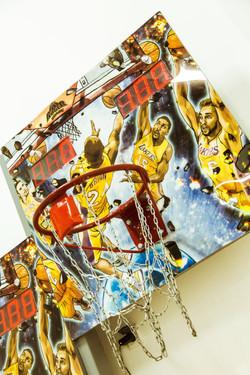 стойка баскетбол