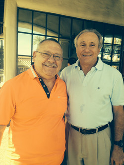 Mike with Michael Reagan