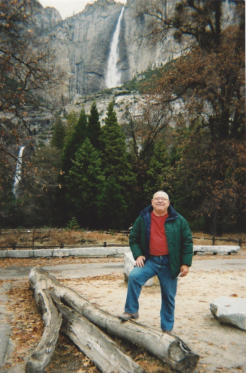 Mike at Yosemite