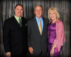 Lea Petersen Pres George W Bush 2013