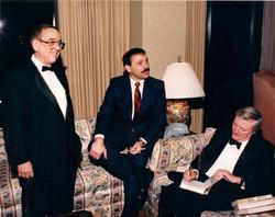 Mike & William F Buckley