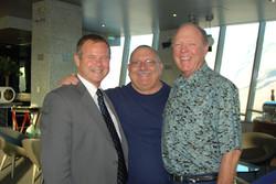 Mike, Sheriff Stan & Supervisor Marion Ashley