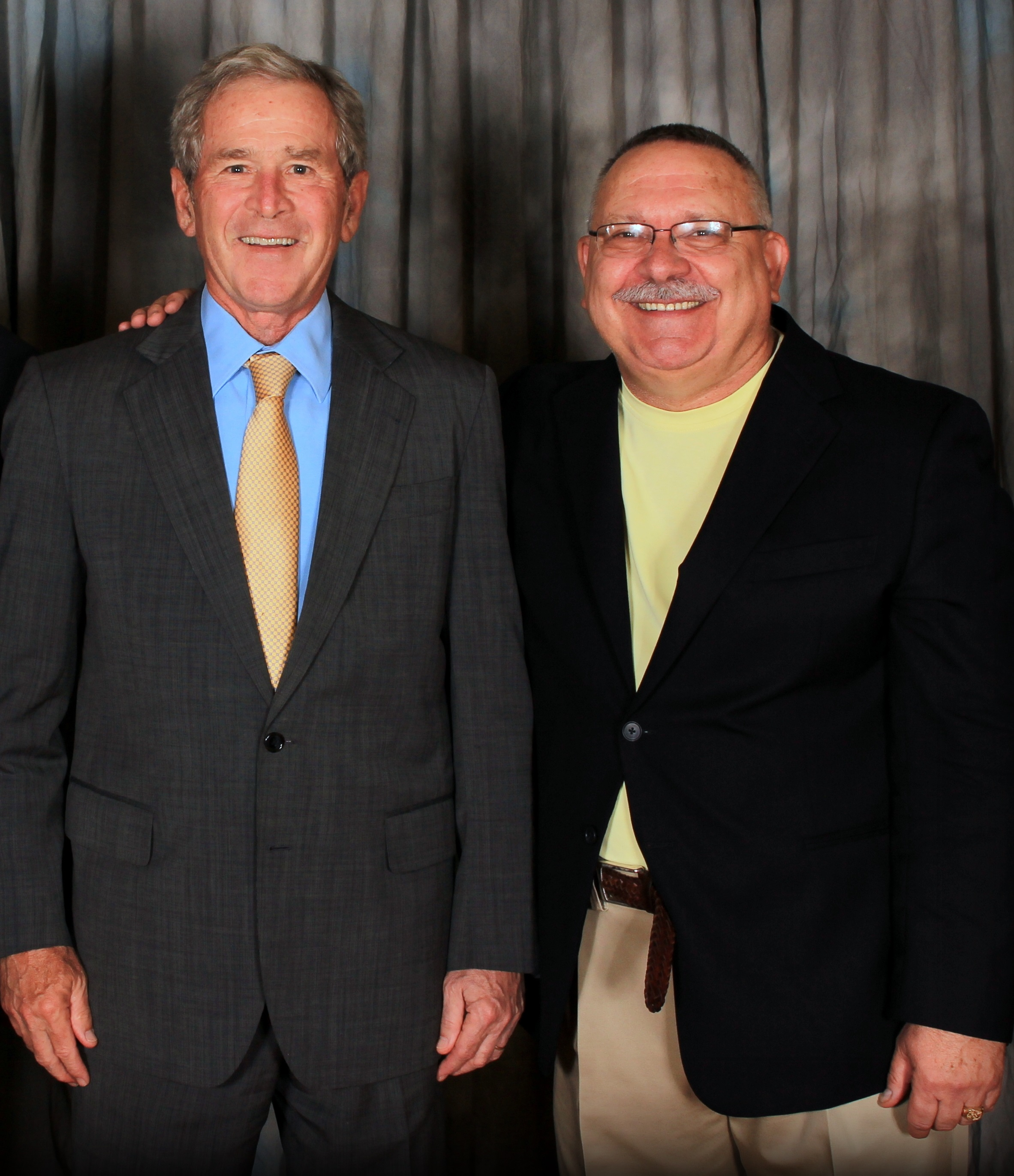 Mike & President George W Bush