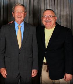 Mike & President George W Bush