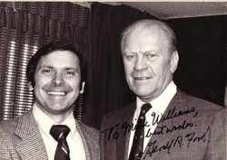 Mike & President Ford