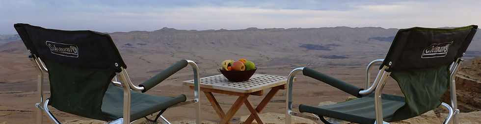 Luxury desert romance overlooking the Ramon Crater Israel