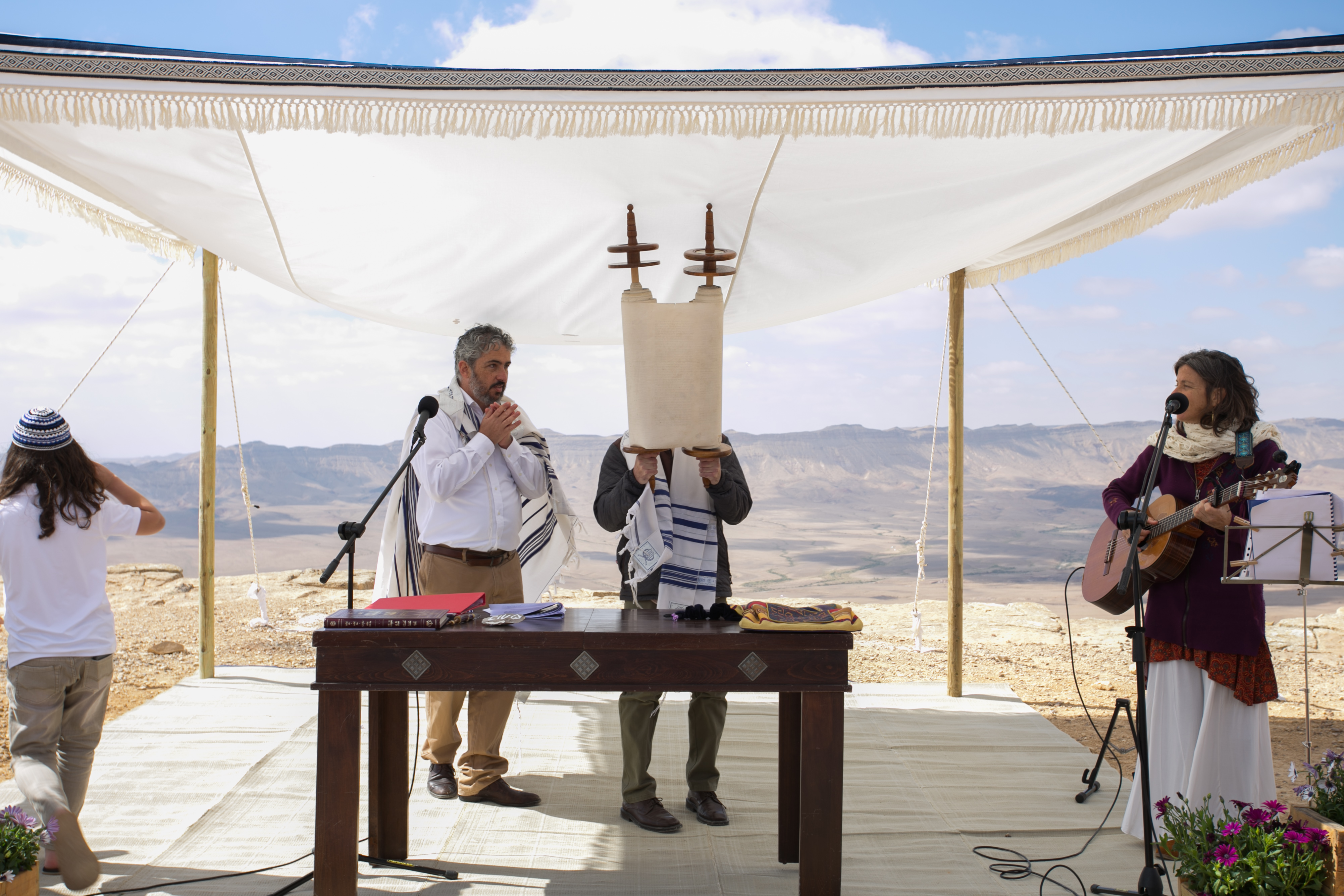 Bar-Mitzvah in the Israeli desert