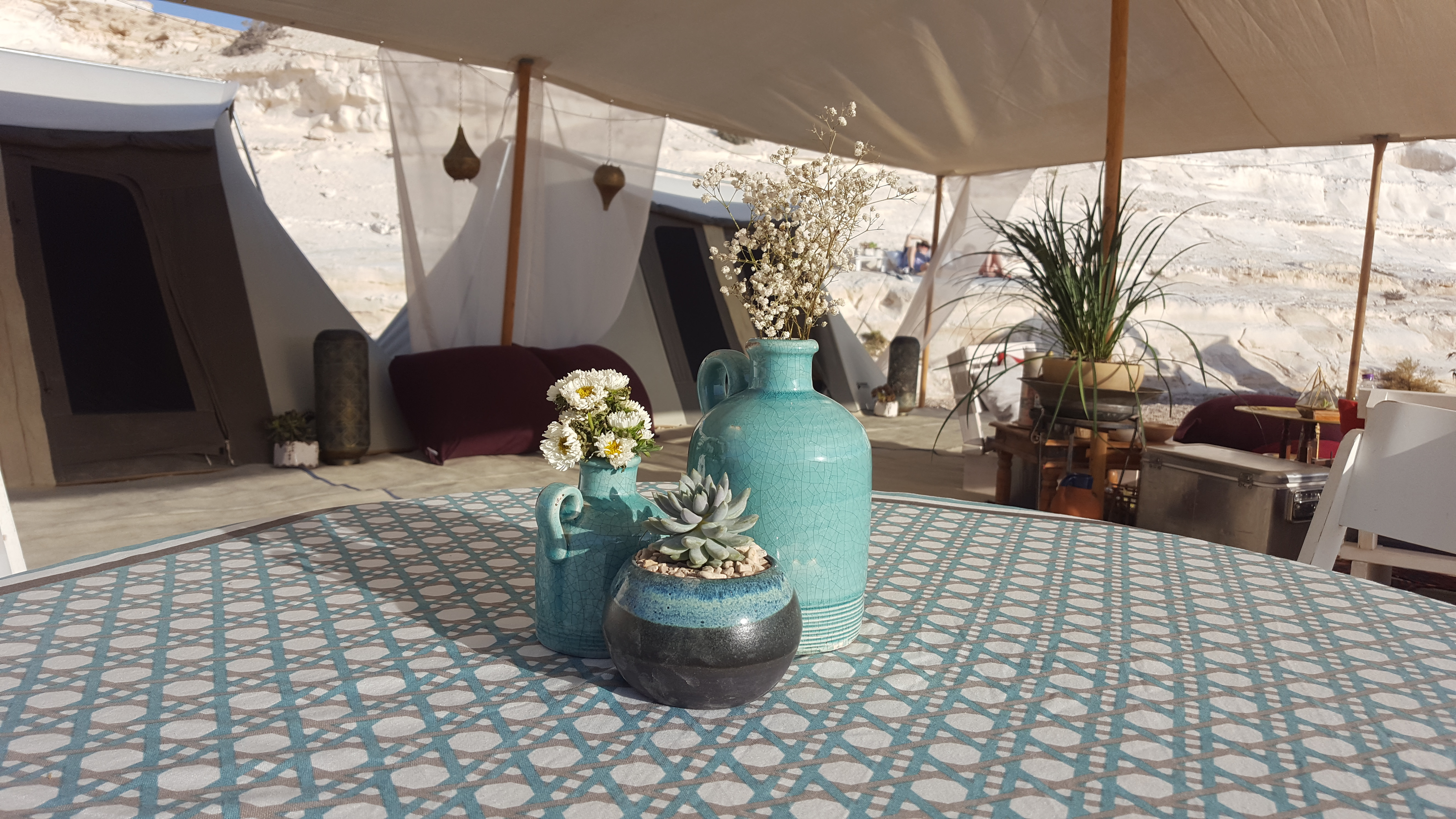 Premium Glamping tents in Israel